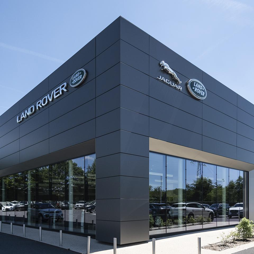 Jaguar Land Rover Logos in all their majesty, by Visotec