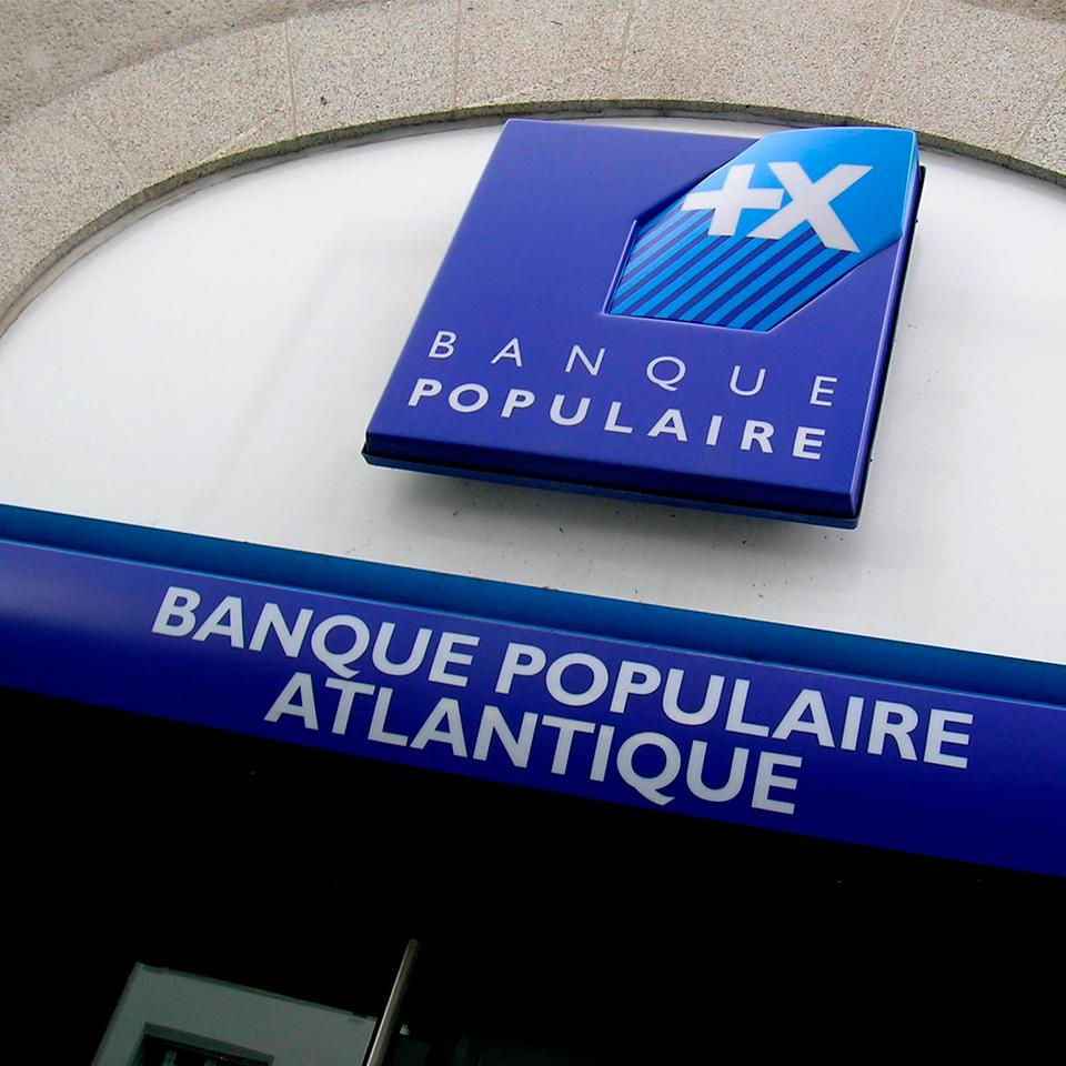 Witryna Banque Populaire
