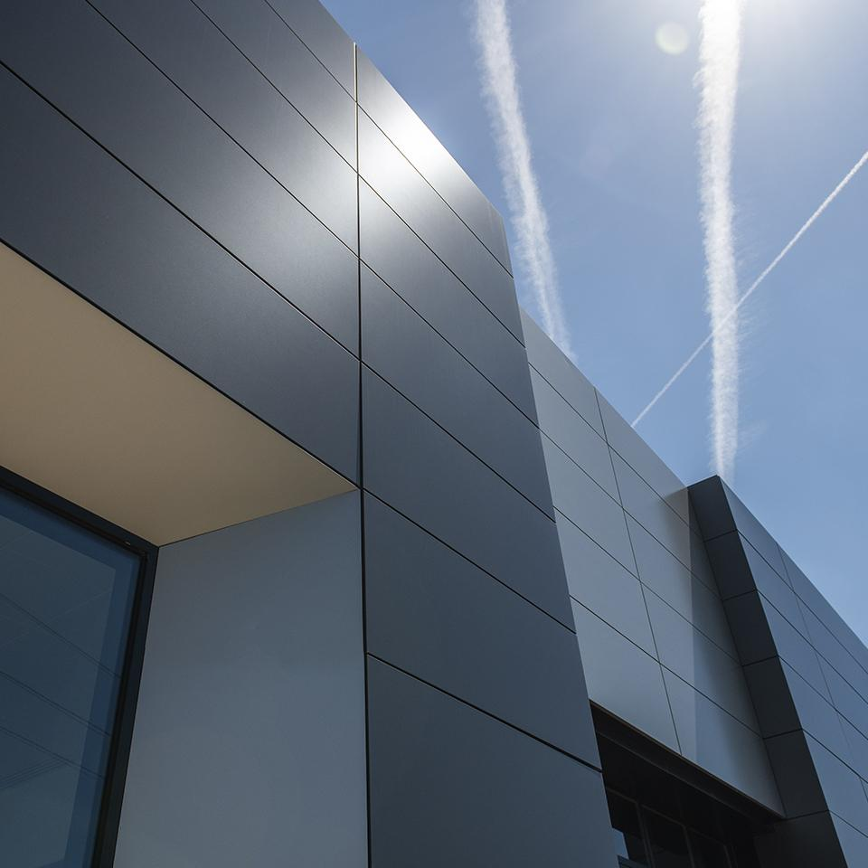 Visotec cladding for that perfect finish