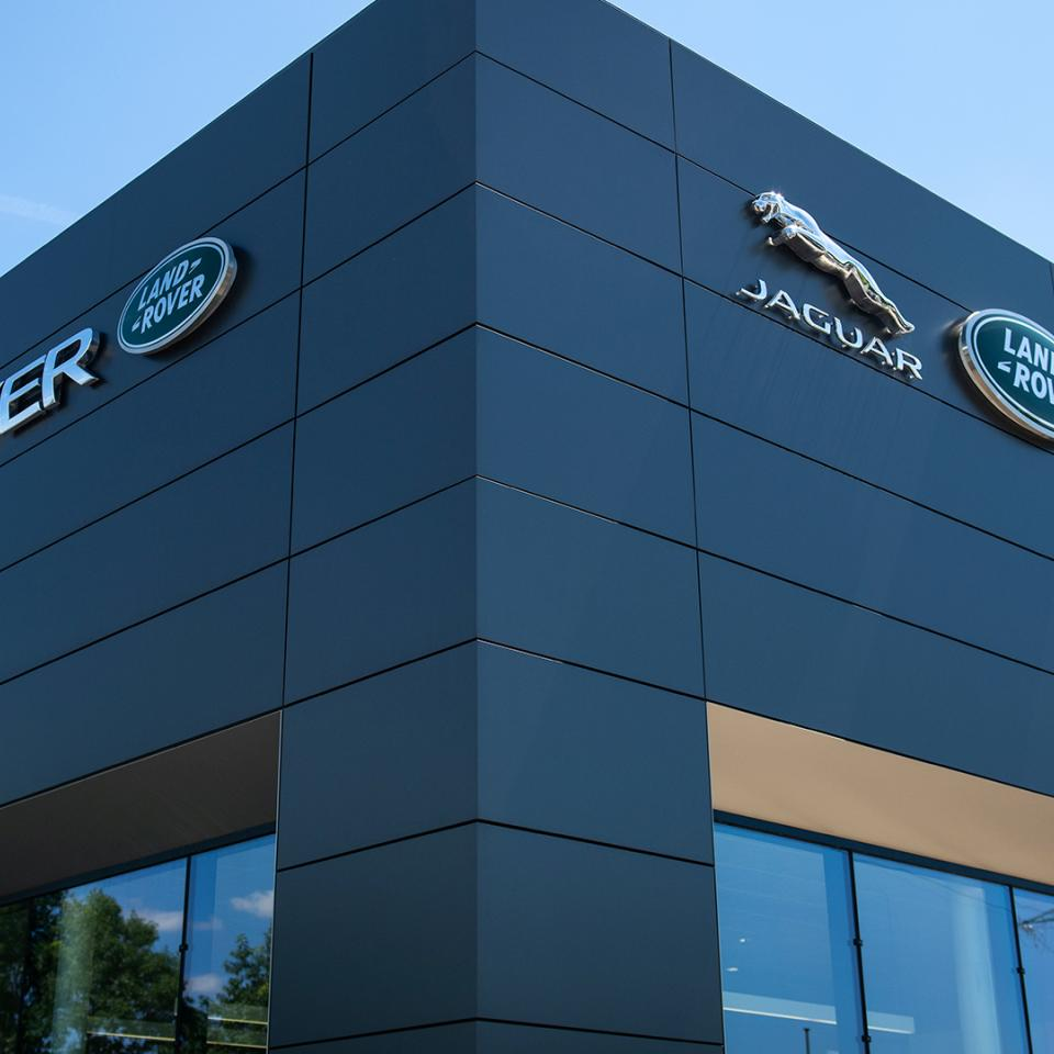 A consistent image for Jaguar Land Rover across the world