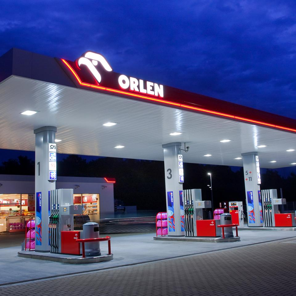 Orlen: designing, implementing and supporting Poland's leading service station brand