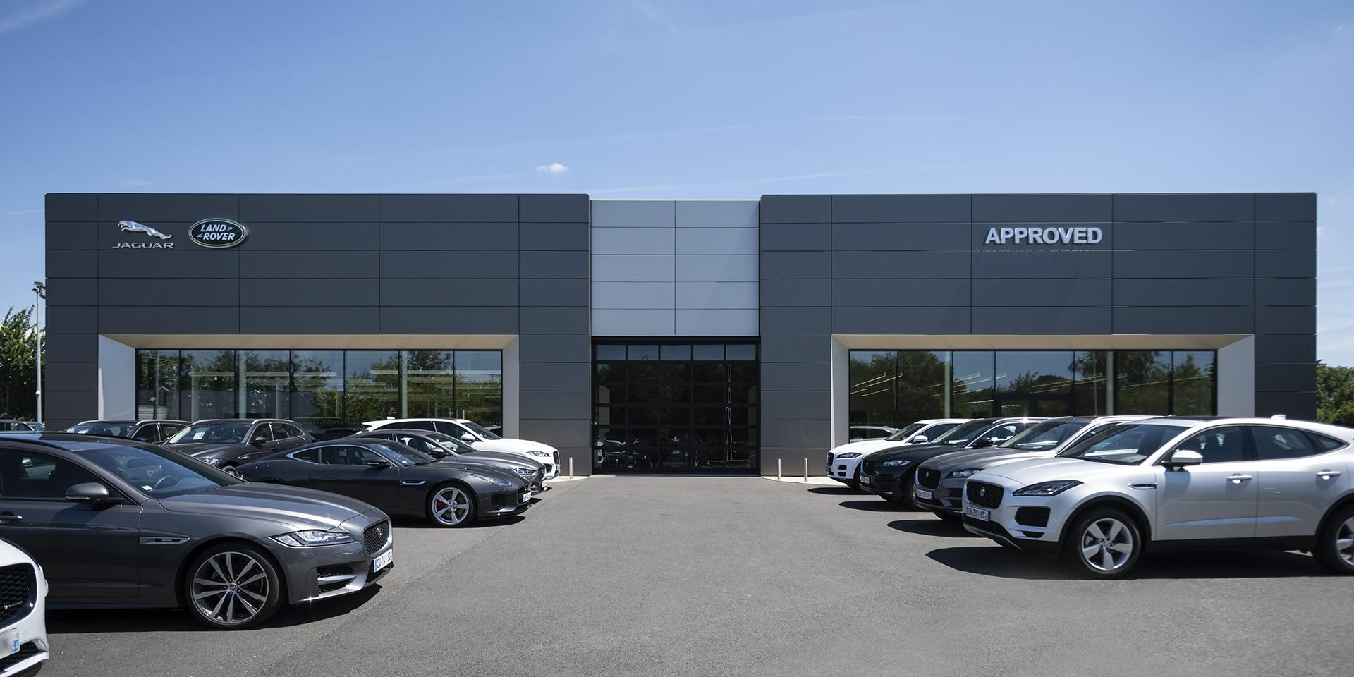 The New Jaguar Land Rover dealership by Visotec